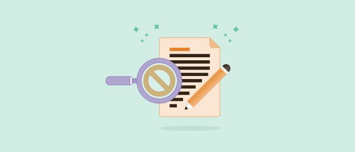 Lo que nunca debes incluir en el email transaccional: las palabras prohibidas