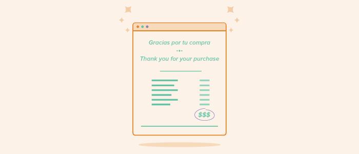 Cómo diseñar los emails transaccionales de recibos y facturas