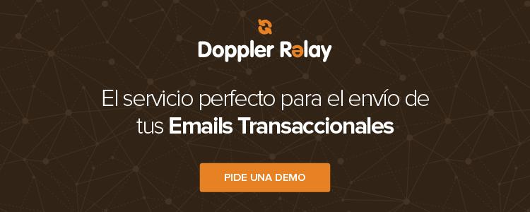 Doppler Relay Servicio de Email Transaccional